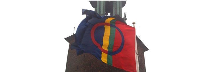 Flaggceremoni vid Stadshuset - 6 februari