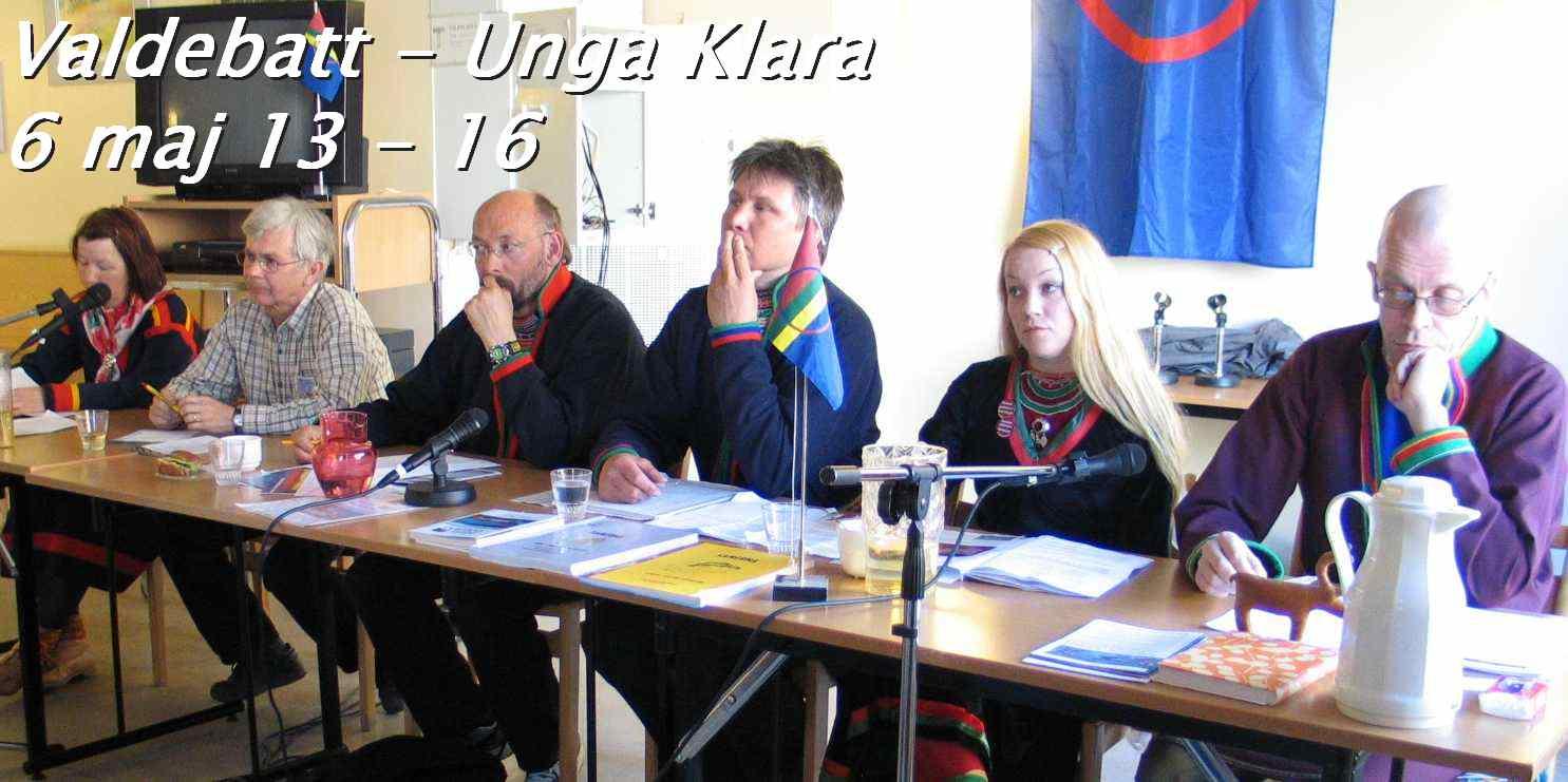 Valdebatt i Stockholm inför Sametingsvalet