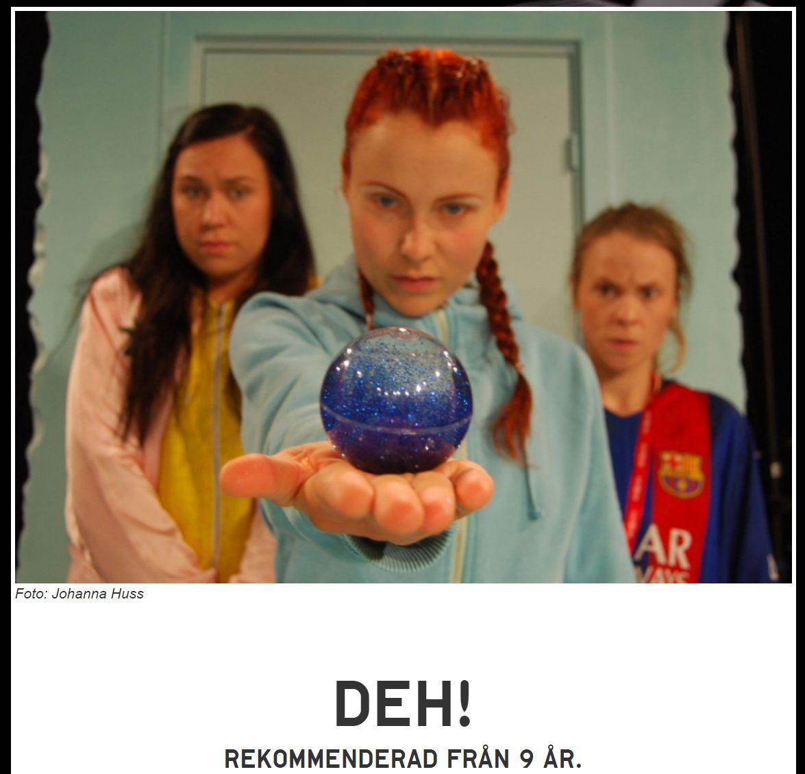 DEH! – Teater från 9 år – Giron Sámi Teáhter