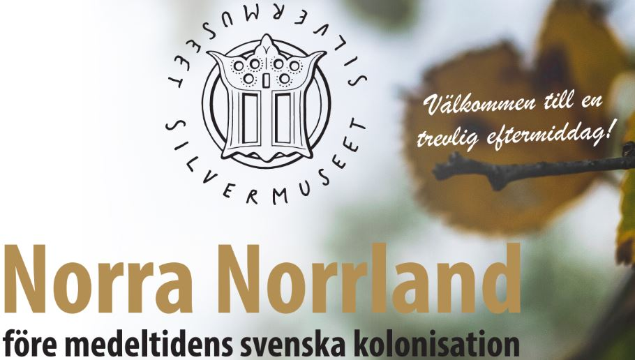 Historiska Museet: Ytterligare föreläsningar 24/10 14-16