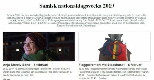 Samisk Nationaldagsvecka 2019