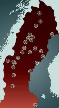 Förvaltningsområden för samiska språken i Sverige