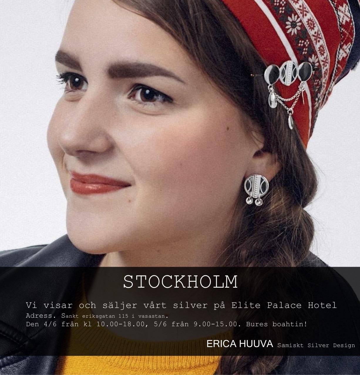 Erica Huuvas silver i Stockholm