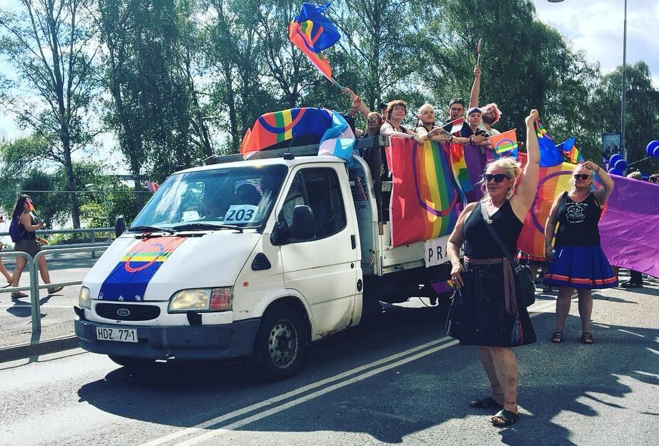 Prajdrajd i Stockholm Pride Parade