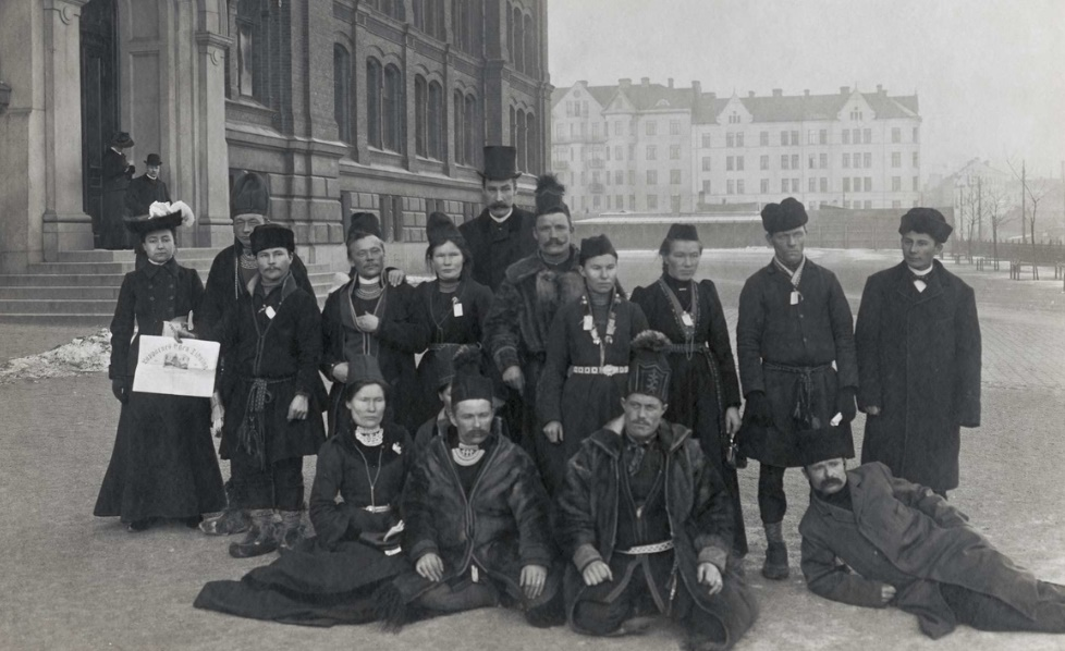 Vandring i de samiska kvinnornas spår, norra turen