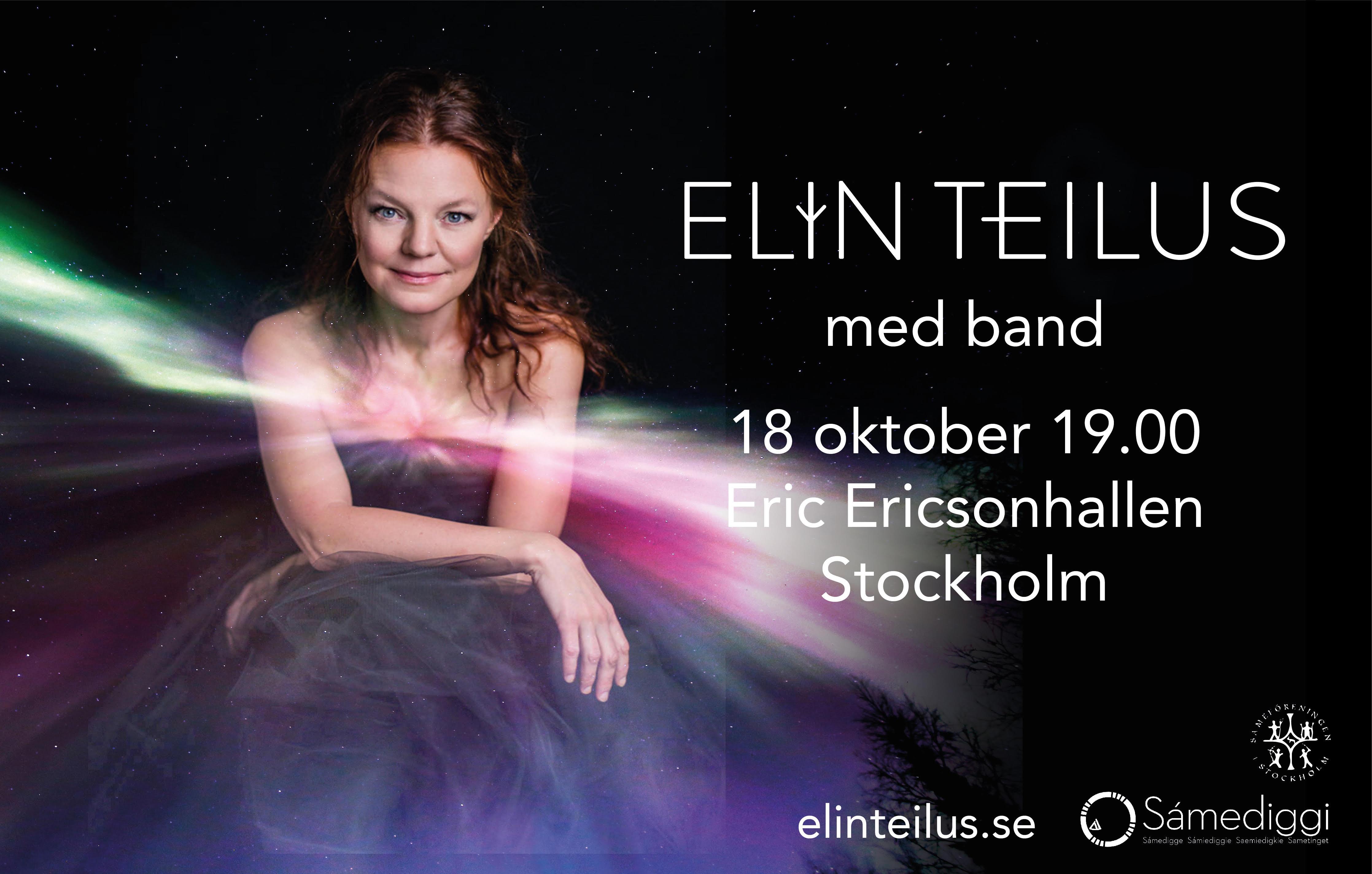 Elin Teilus – Iellemij – To Life – fre 18 oktober