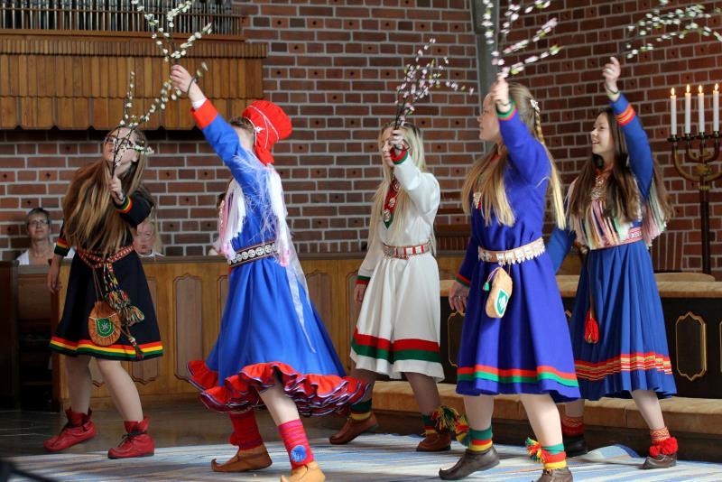 Samisk gudstjänst, 23 feb