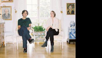 Konstnärssamtal: Olof Marsja och Iris Smeds - Bonniers Konsthall