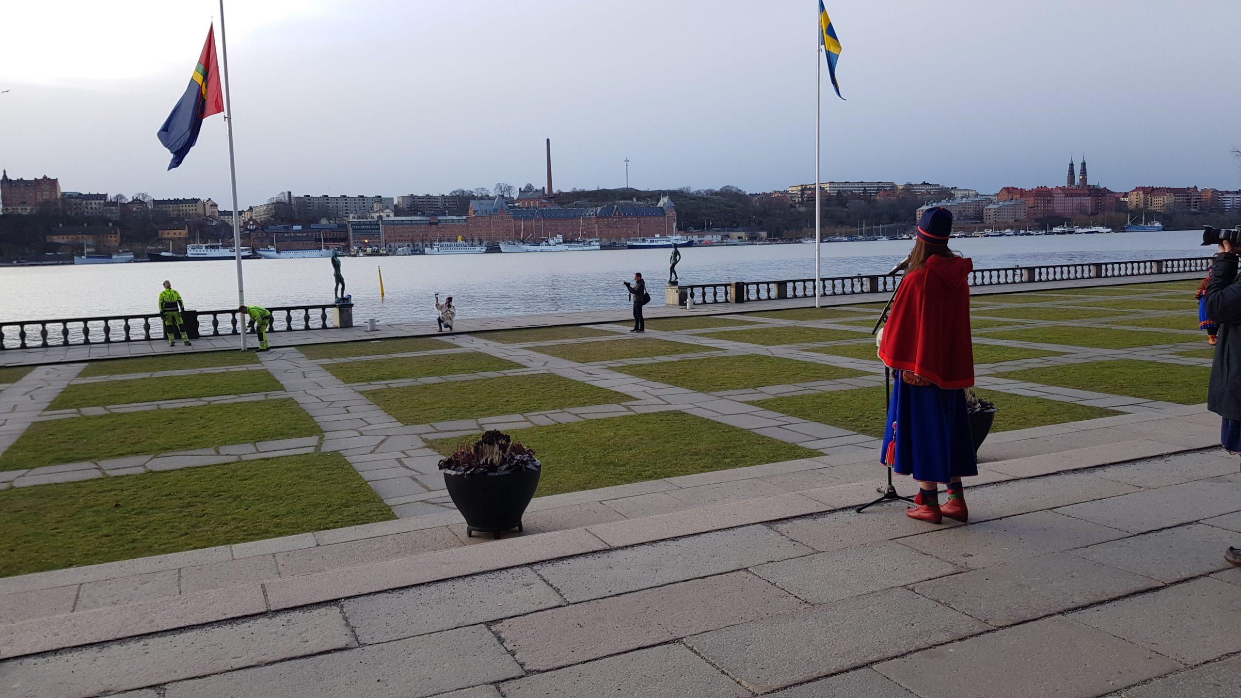 Nationaldagen firad i Šthlm – mitt i Sápmi