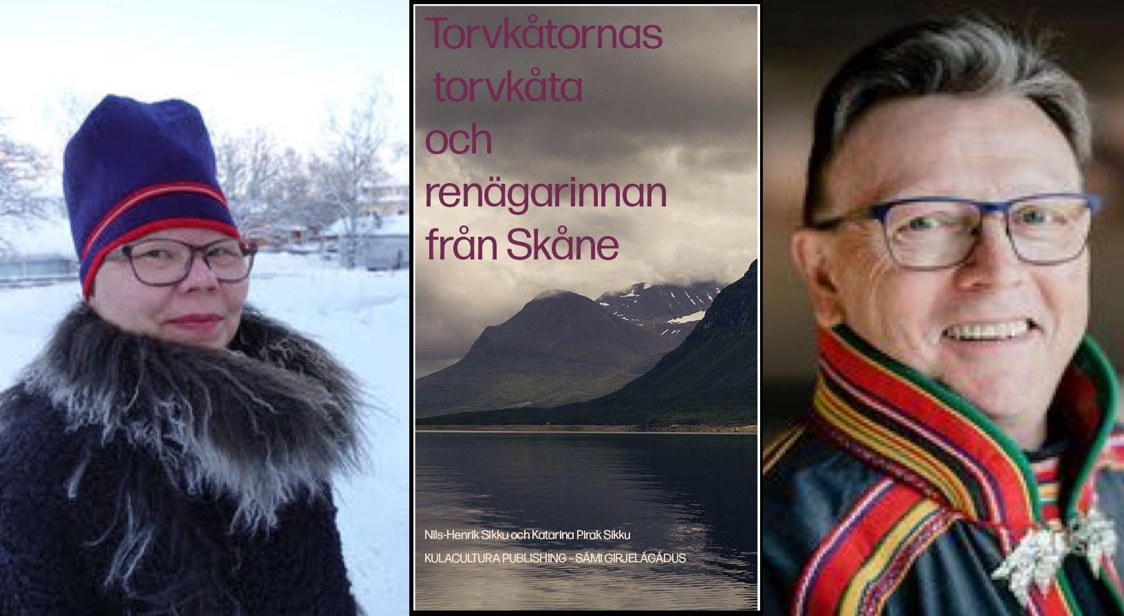 INSTÄLLT: Torvkåtornas torvkåta. Nils-Henrik Sikku och Katarina Pirak Sikku, 18 april
