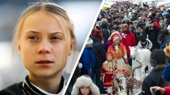 Greta Thunberg till Jokkmokks marknad - Sameradion & SVT Sápmi | Sveriges Radio