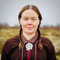 Elle Sofa Sara pitchar för sin produktion Arru på Göteborgs Filmfestival