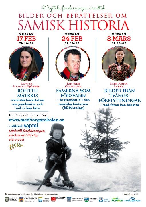 Samisk historia: digital onsdagsserie – 17 feb – 3 mars