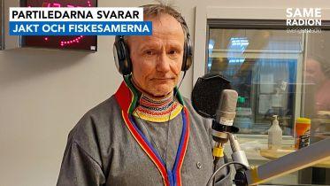Politik Sápmi - Partiledarintervju med Håkan Jonsson, Jakt- och fiskesamerna 21 april kl 15.00 - Sameradiopodden | Sveriges Radio
