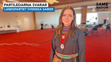 Politik Sápmi - Partiledarintervju med Marie Persson Njajta, LPSS 20 april kl 15.00 - Sameradiopodden | Sveriges Radio
