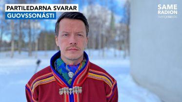 Politik Sápmi - Partiledarintervju med Lars-Miguel Utsi, Guovssonásti 19 april kl 15.00 - Sameradiopodden | Sveriges Radio