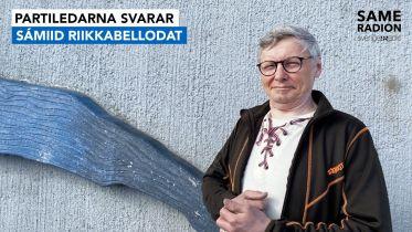 Politik Sápmi - Partiledarintervju Per Olof Nutti, Samelandspartiet 27 april kl 15.00 - Sameradiopodden | Sveriges Radio